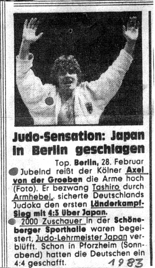 Judo Museum Alexander Von Der Groeben